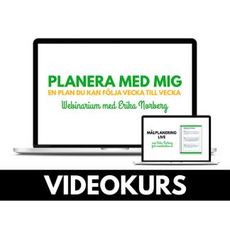 Videokurs i planering och målplanering. butik.merstruktur.se