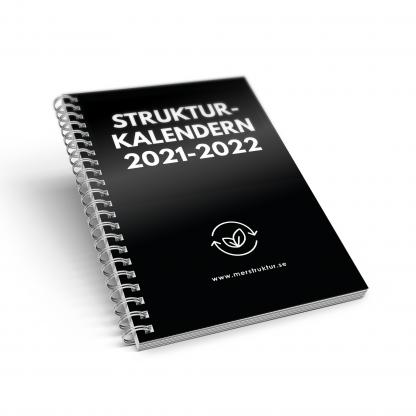 Strukturkalendern för att hålla ordning på alla dina att-göra-punkter. butik.merstruktur.se
