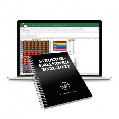 Strukturpaketet med både kalender och digital veckoöversikt. butik.merstruktur.se
